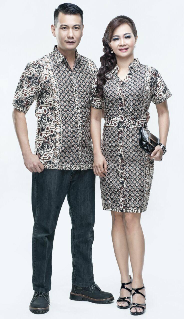 Baju Batik Couple dengan Model Modern dan Serasi