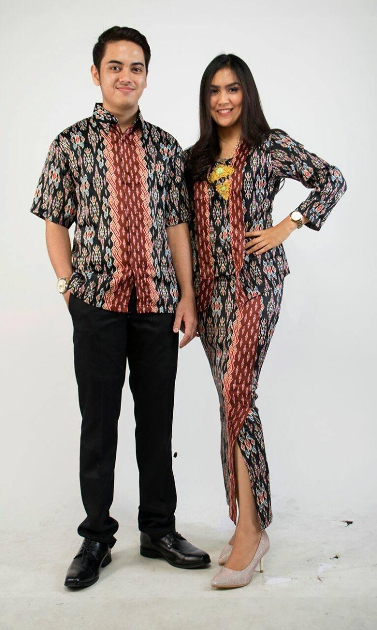 Baju Batik Couple Modern Terbaru