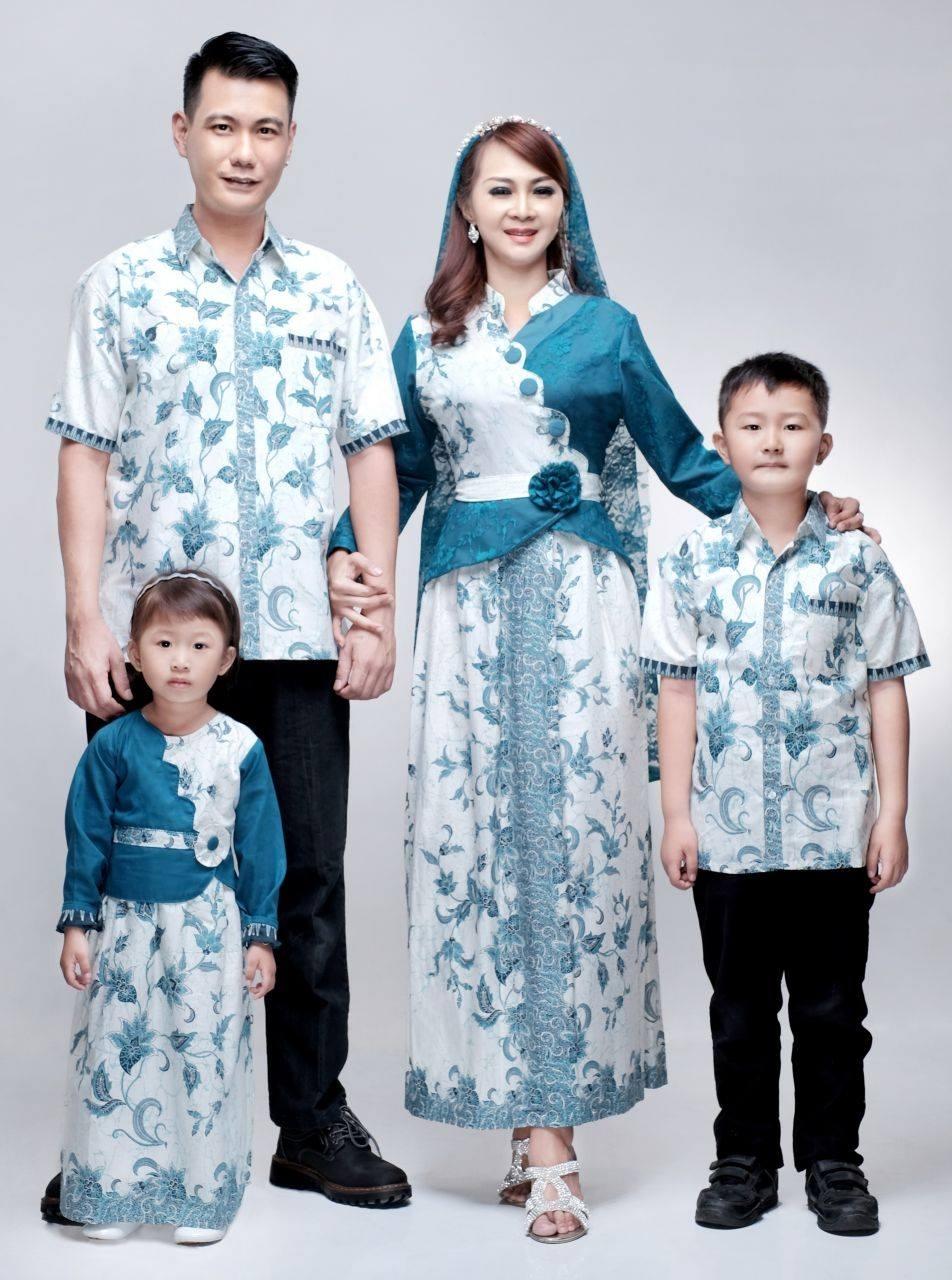 Baju Couple untuk Lebaran bersama Keluarga Bermotif Sarimbit