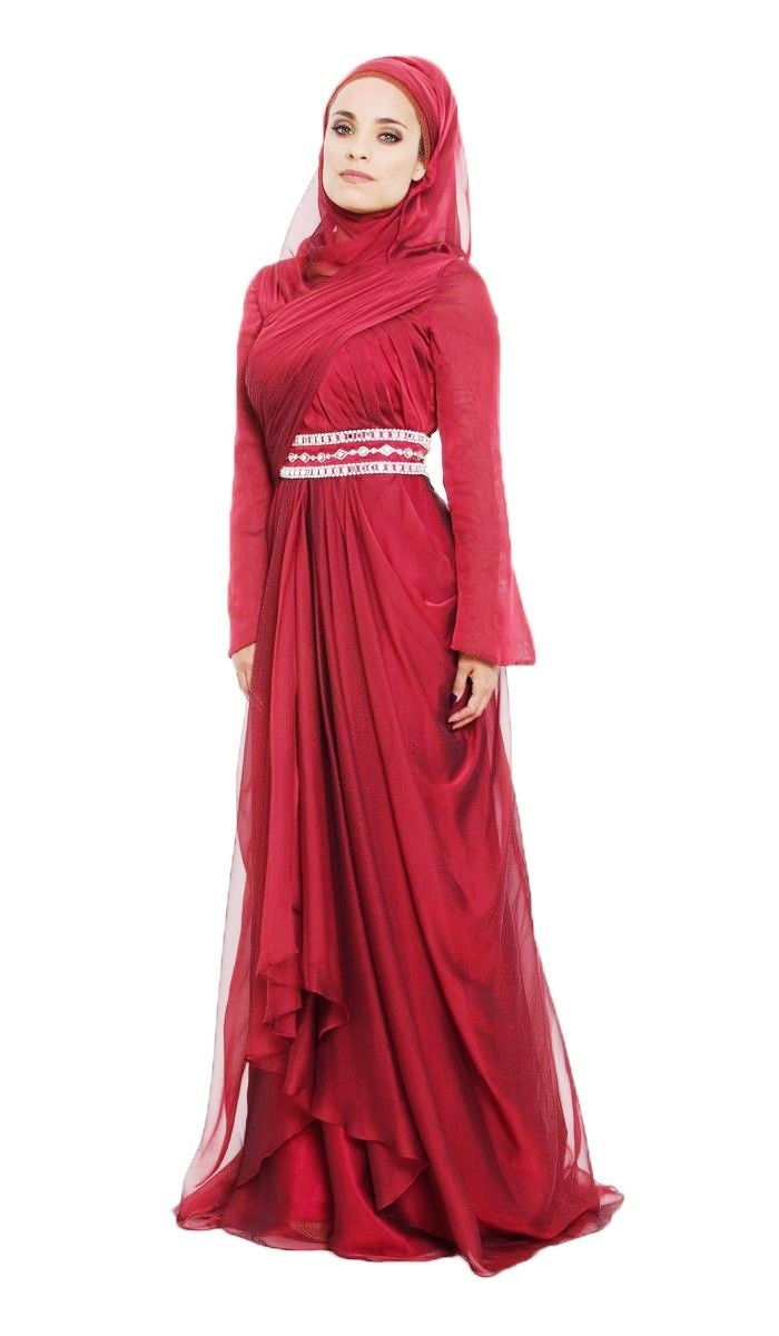 Baju Gamis Sifon Cocok untuk dipakai saat Lebaran