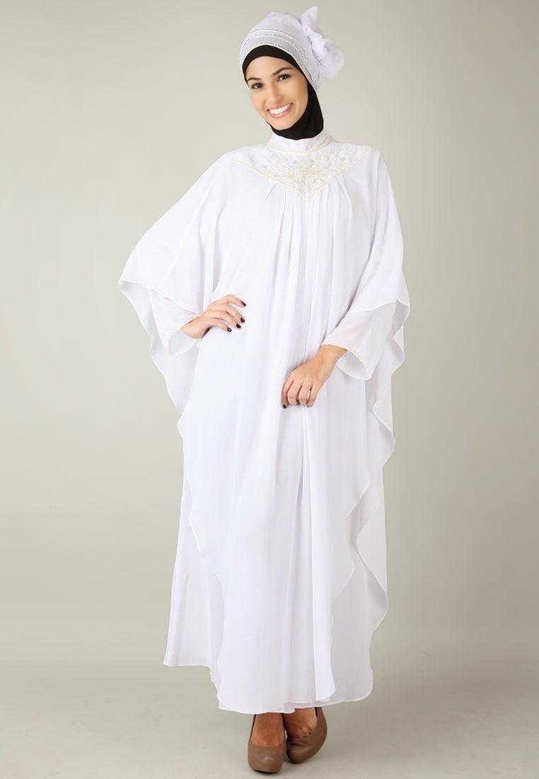 Baju Gamis Sifon Cocok untuk Ibu Ibu Saat Lebaran Maupun Pernikahan