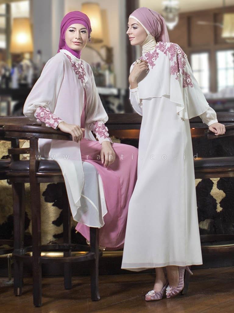 41 Model Baju Gamis Terbaru 2017 Pas Untuk Pesta Hingga