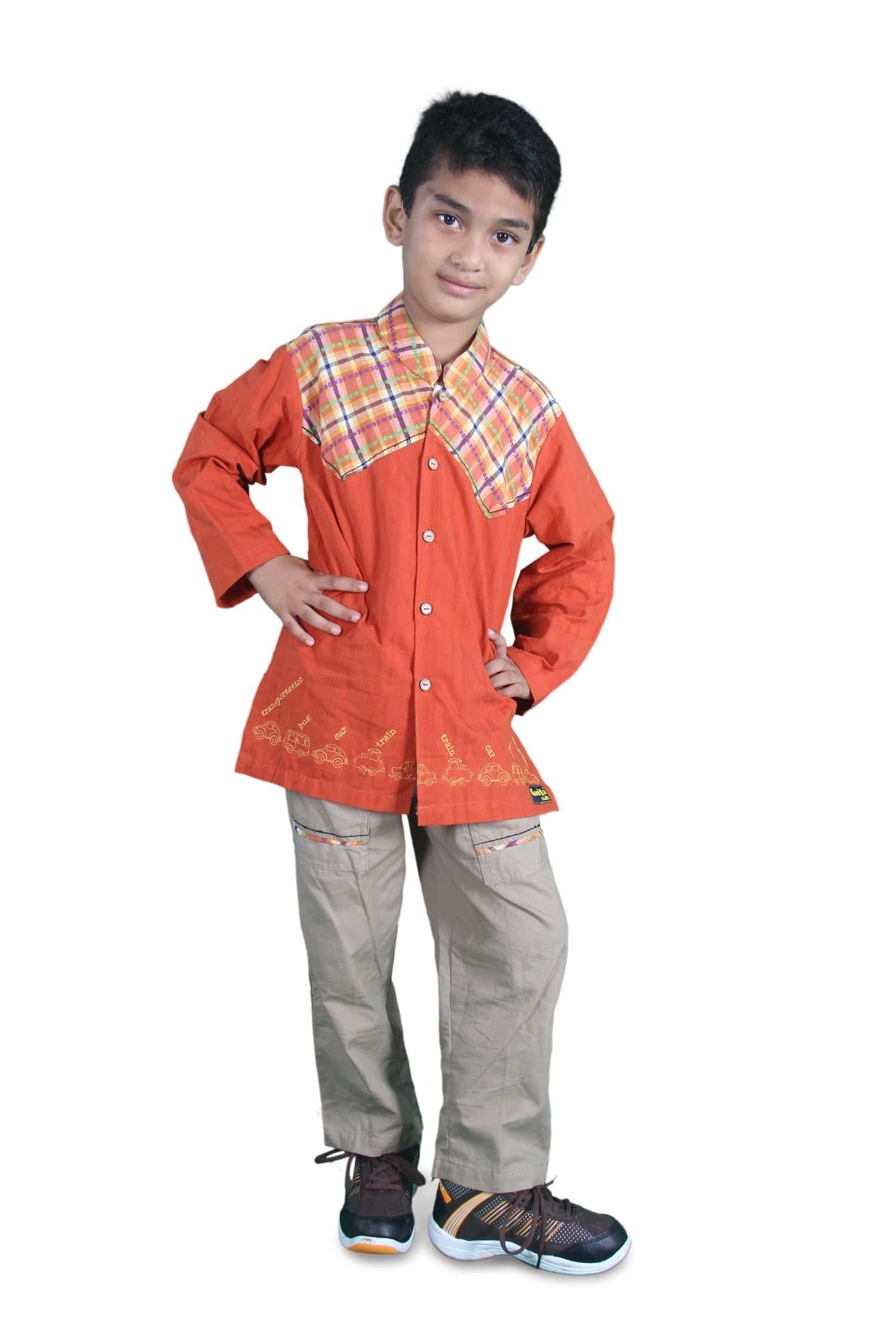 Baju Koko untuk Anak Laki-Laki Muslim dengan Model Terbaru