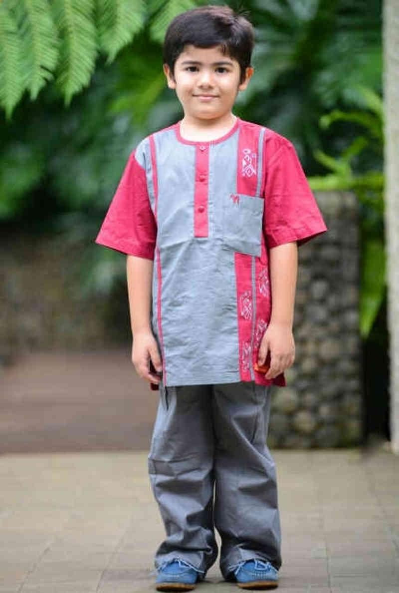 Baju Lebaran Anak Laki-Laki yang Kekinian