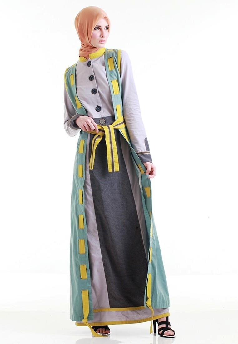 Gaya Busana Terbaru dengan Baju Gamis Batik Modern