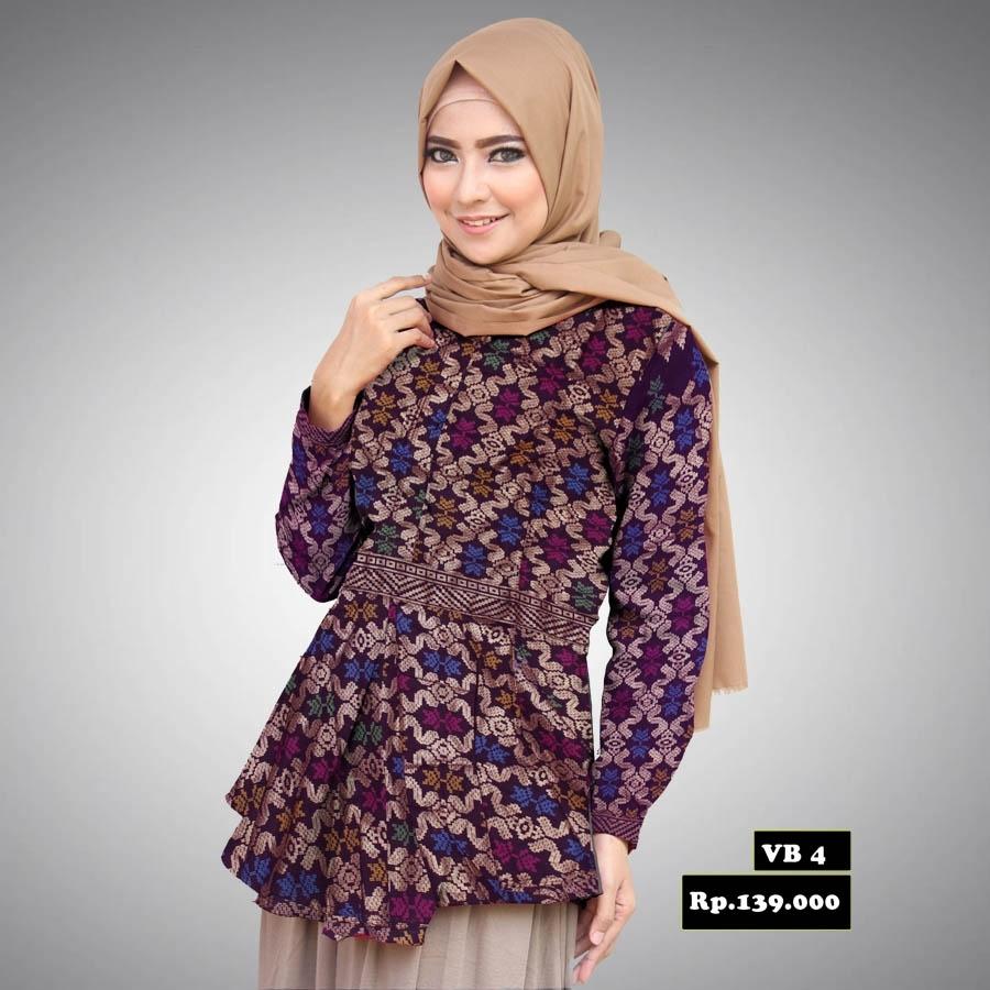 Inspirasi Baju Batik Kerja untuk Wanita Muslim