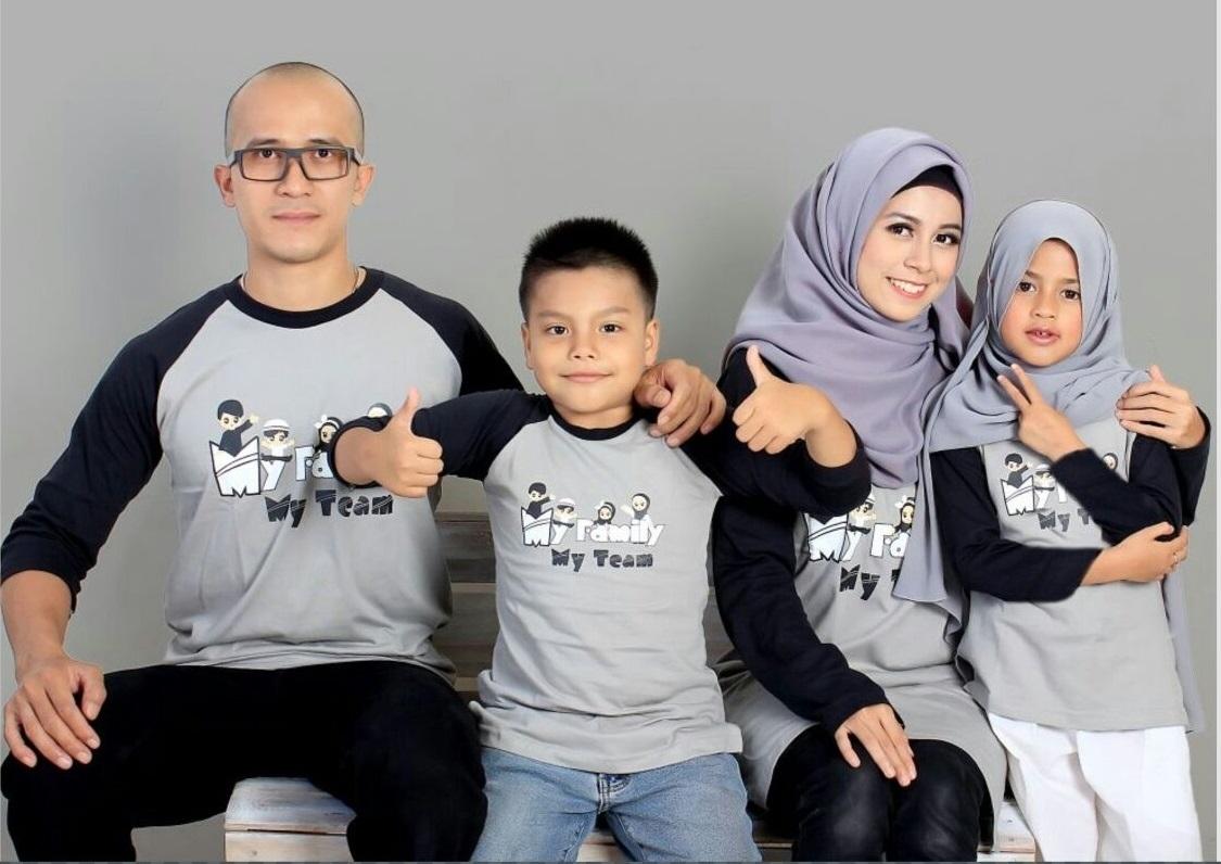 Kaos Keren untuk dipakai Saat Lebaran Bersama Keluarga