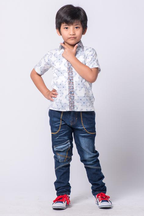 Model Baju Batik untuk Anak Laki Laki Paling Bergaya