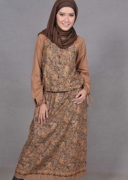 Baju Batik Muslimah untuk Acara Pesta Pernikahan Terbaik Saat Ini