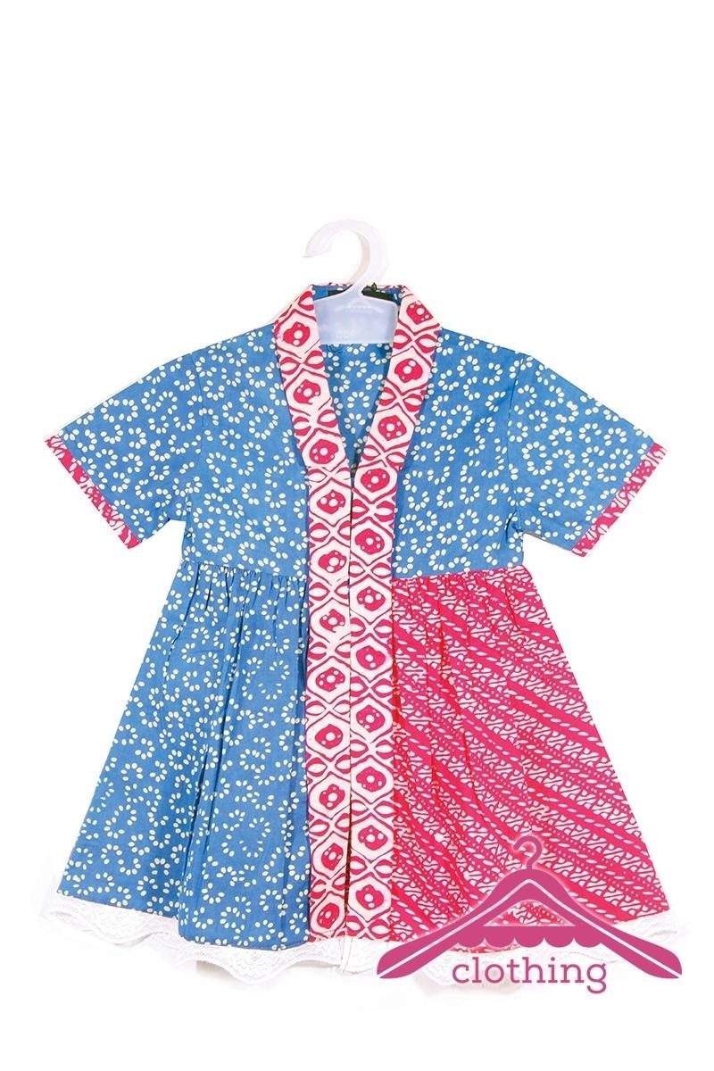 Model Baju Batik Anak Perempuan Terbaru Saat Ini