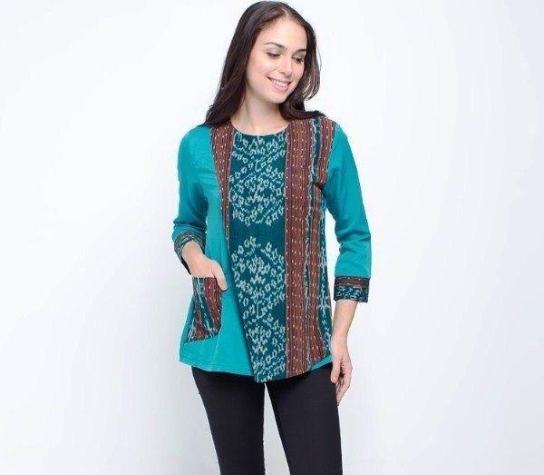 Model Baju Batik Atasan untuk Wanita yang Stylish