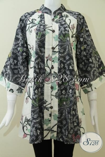 Model Baju Batik untuk Wanita Gemuk Terbaru Saat Ini