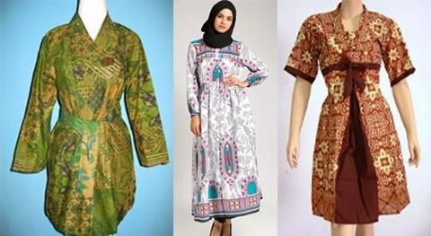 Pilihan Baju Batik Kerja untuk Wanita Gemuk Terbaik