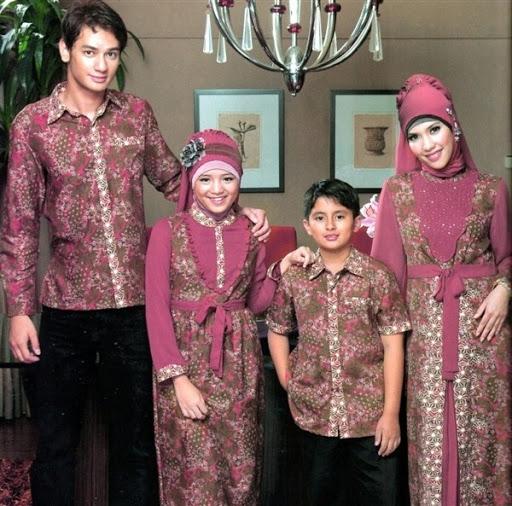 Model Baju Batik Couple untuk Keluarga Paling Baru Saat Ini