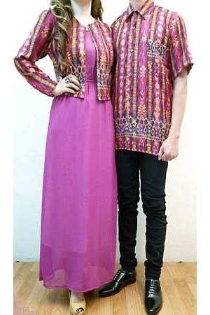 Model Baju Batik Couple untuk Pasangan Bergaya Elegan