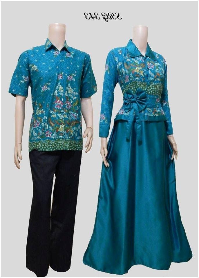 Model Baju Batik Couple untuk Pasangan dalam Acara Formal