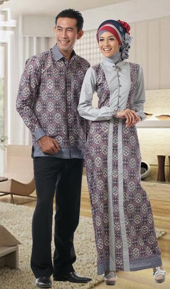 Model Baju Batik Couple untuk Pasangan Muslim Elegan dan Stylish