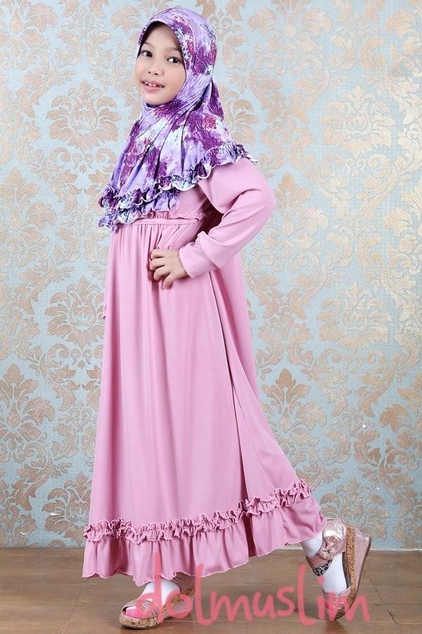 Model Baju Gamis Anak Perempuan Terbaru Saat Ini