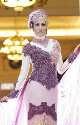 Model Kebaya Muslim Masa Kini
