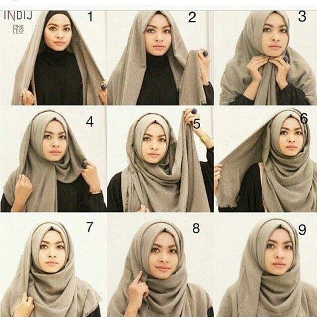 Tutorial Hijab Wisuda dengan Model Segi Empat yang Simple
