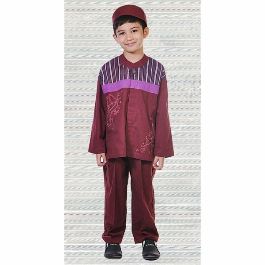 Baju Lebaran Anak Laki-Laki dengan Model Trendy