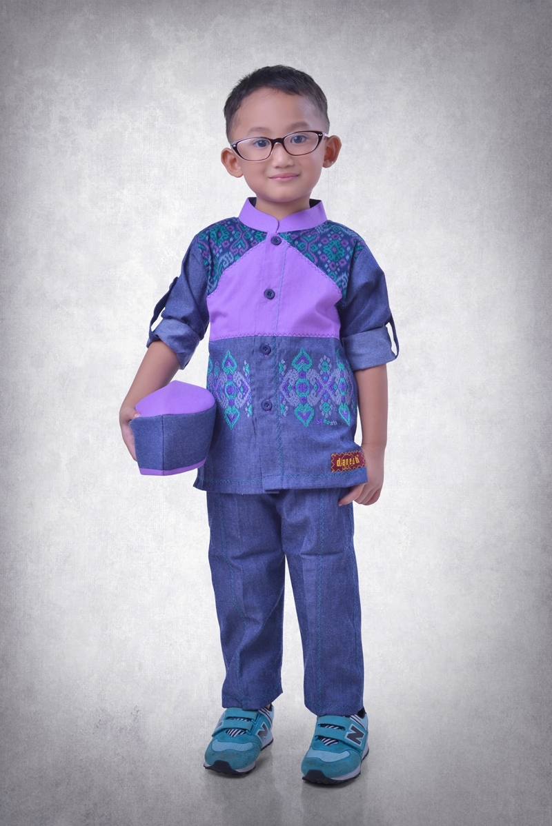 Baju Lebaran Anak Laki-Laki yang Elegan