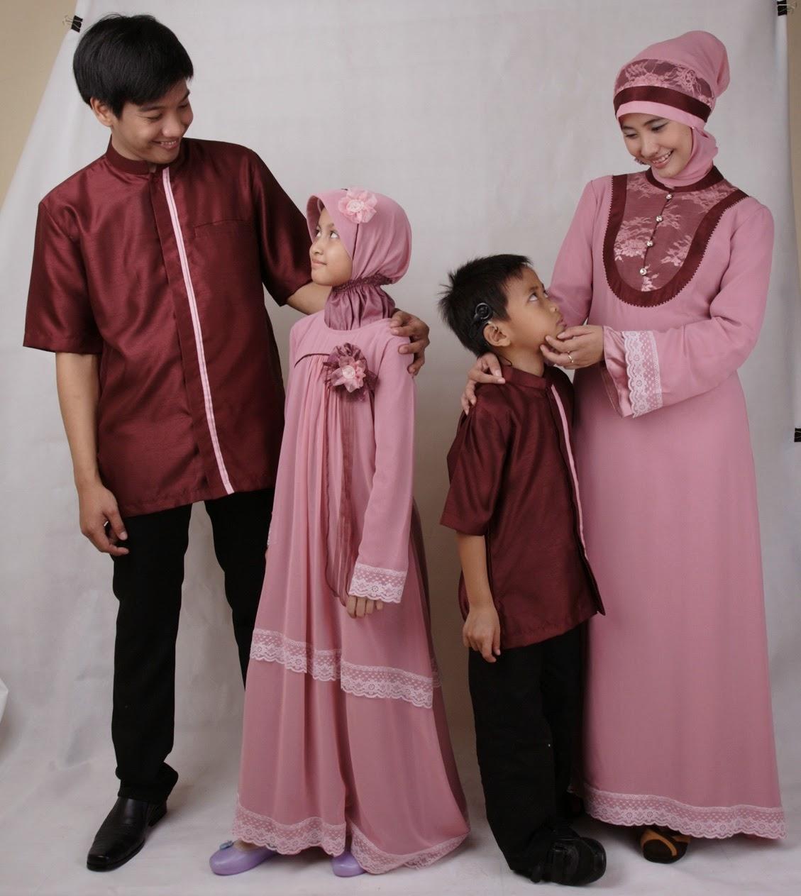 Model Baju Lebaran untuk Keluarga Terbaru Saat Ini