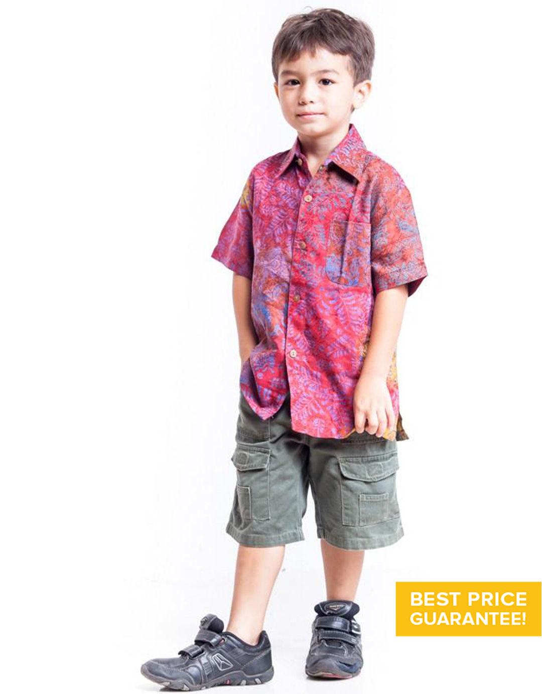Kemeja Batik untuk Anak Laki-Laki Terbaru dan Terkini