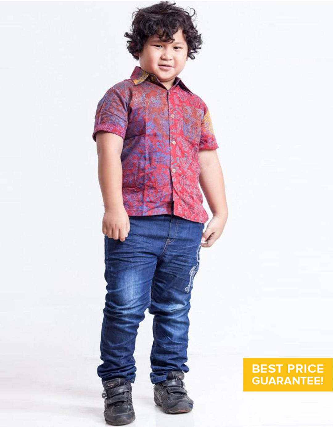 Model Baju Batik Anak Laki-Laki Modern