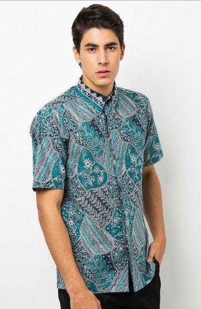 Baju Batik Keren dan Stylish untuk Guru Pria