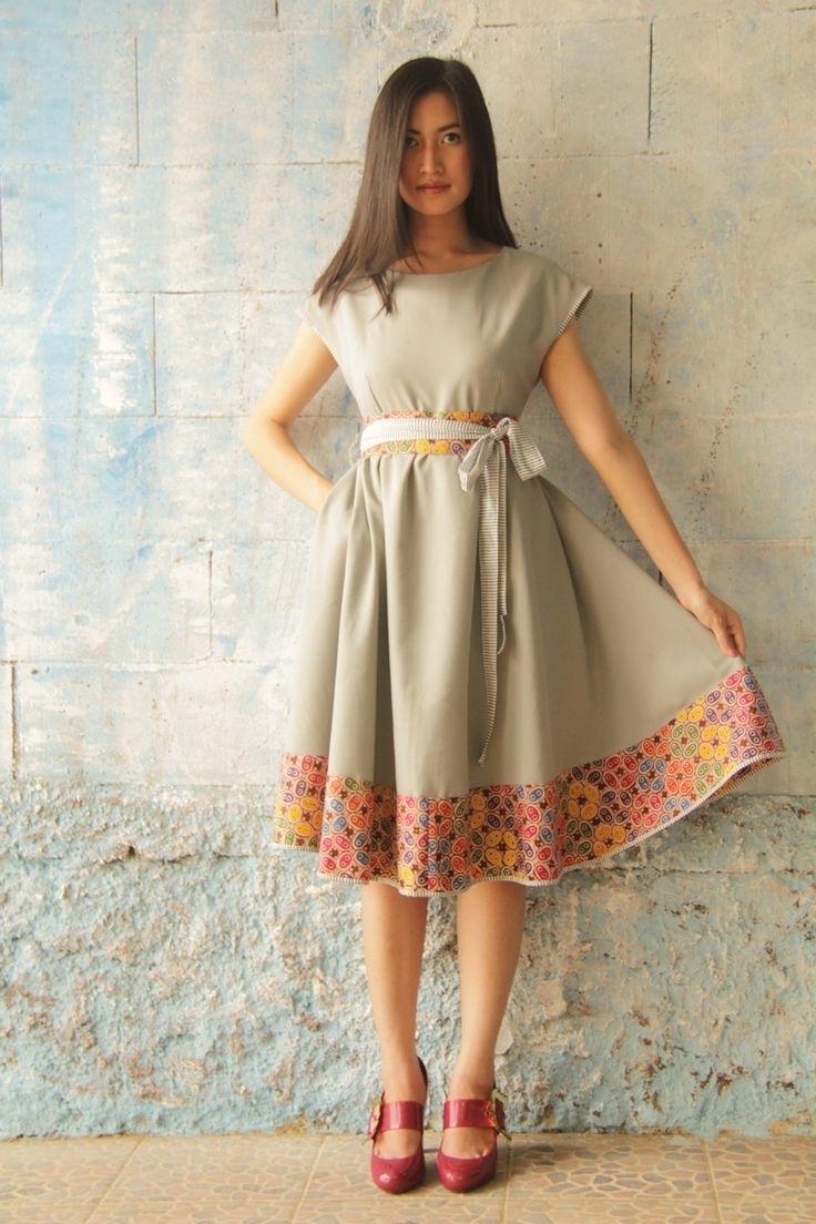 Dress Batik Paling Anggun