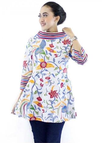 Inspirasi Baju Batik untuk Guru Wanita