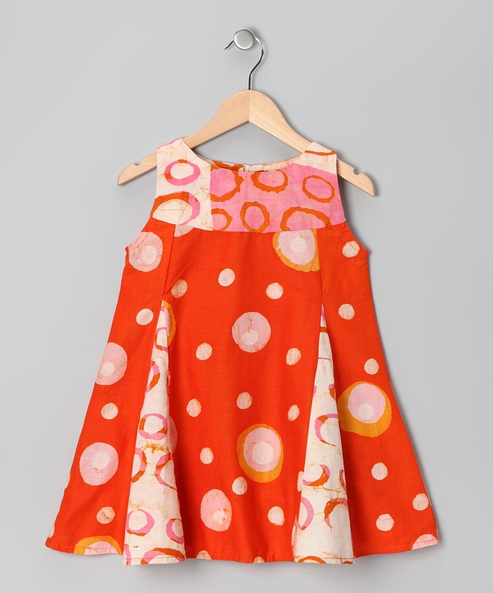 Model Baju Batik Anak Perempuan 5 Tahun