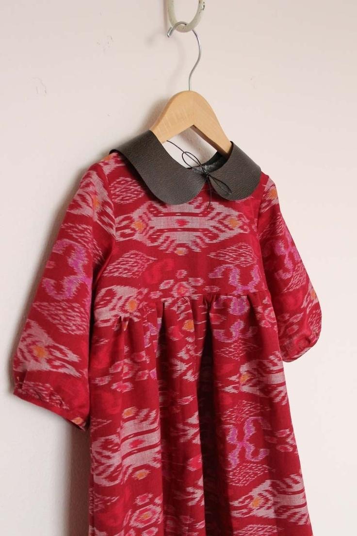 Model Baju Batik Anak Perempuan dengan Motif Modern