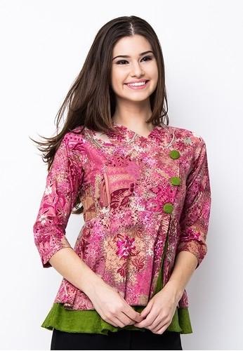 Model Baju Batik Atasan untuk Wanita Paling Cantik