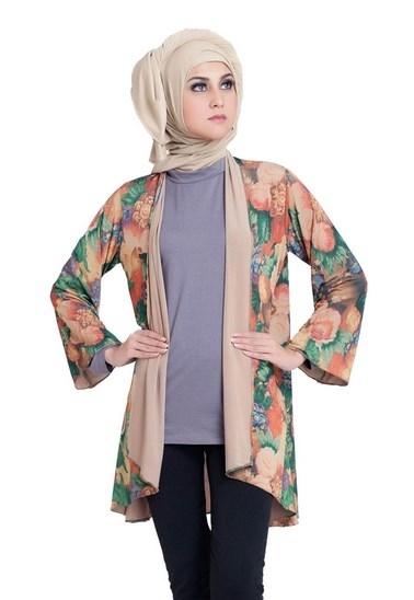 Model Baju Batik Muslimah untuk Pesta Kombinasi Terbaik