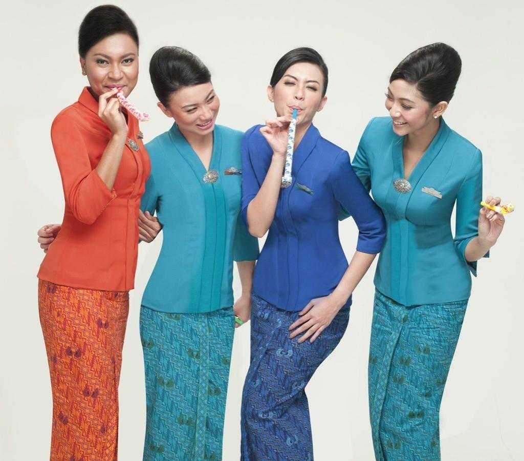 Model Baju Batik Pramugari Paling Memukau Saat Ini