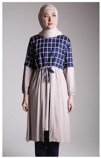 Model Baju Batik Tunik untuk Pesta