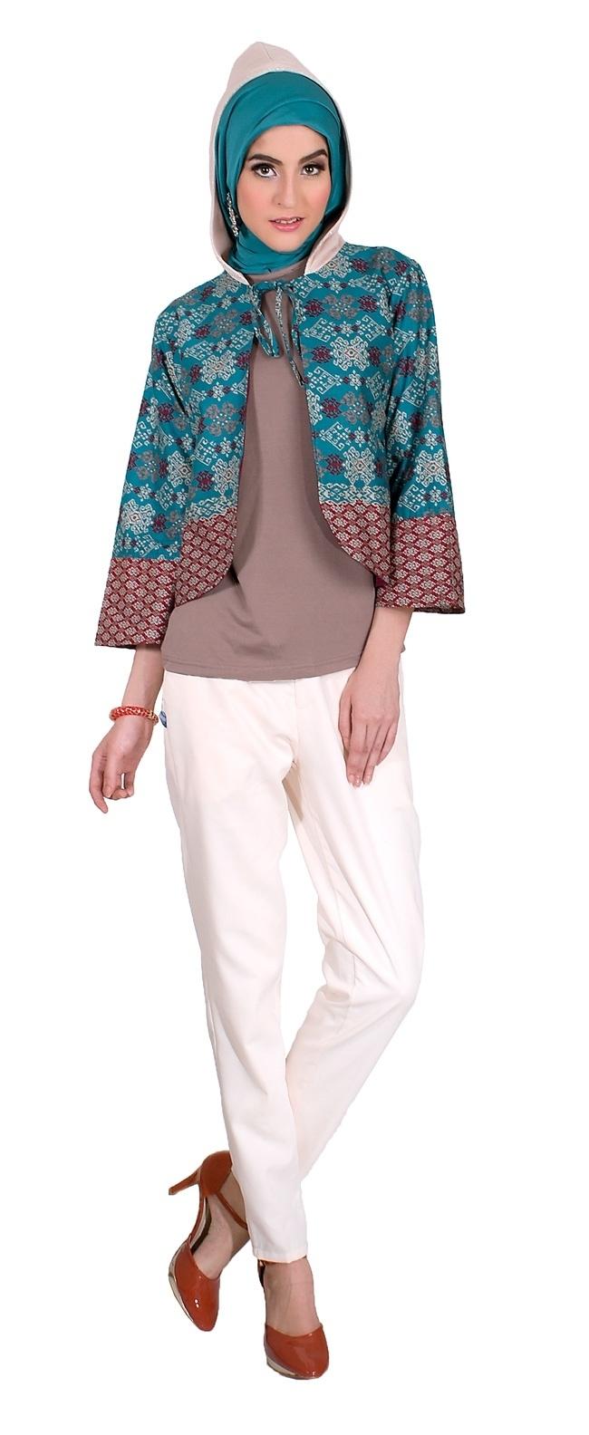 Model Bolero Batik Terbaik untuk Wanita Muslimah