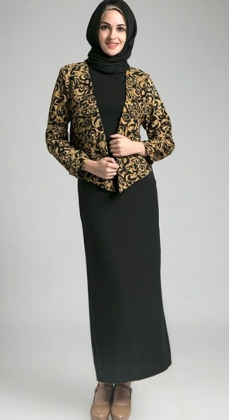 Tips Keren Saat Menghadiri Acara Pesta dengan Baju Batik Muslimah
