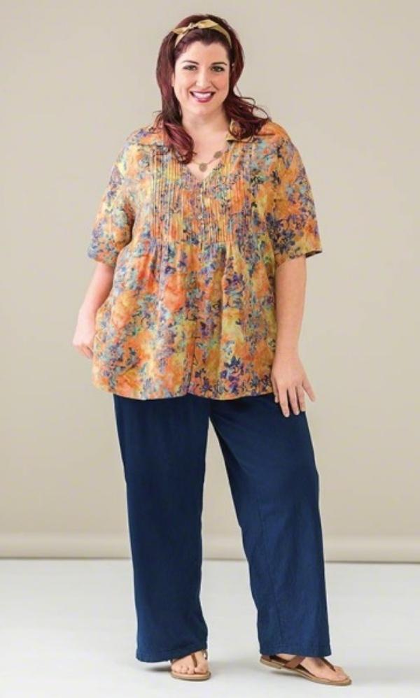 Model Baju Batik Atasan untuk Wanita Gemuk Terbaik Saat Ini