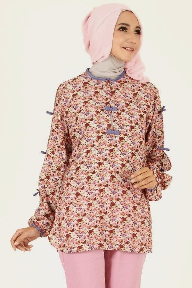 Model Baju Batik Atasan Wanita Lengan Panjang untuk Remaja