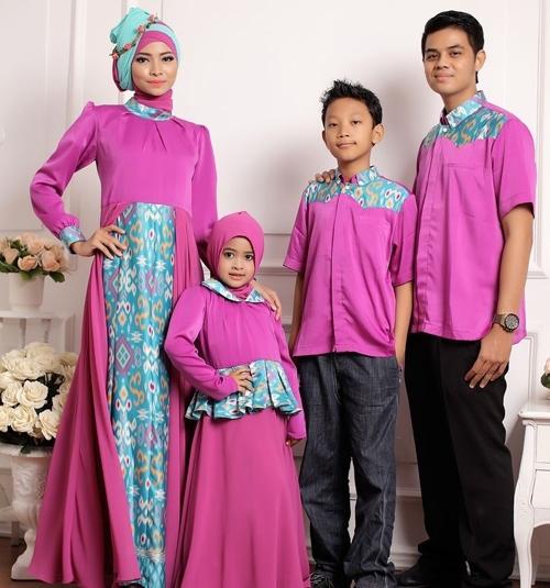 Model Baju Batik Couple untuk Keluarga Agar Kompak