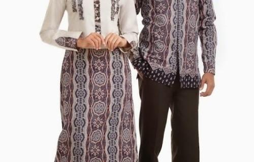 Model Baju Batik Couple untuk Pasangan Muslim Paling Cocok