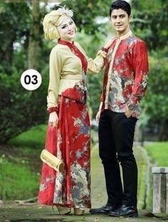 Model Baju Batik Couple untuk Pasangan Muslim Paling Elegan