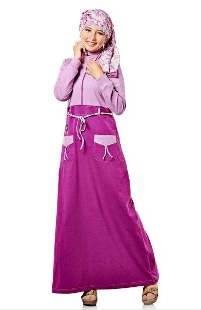 Model Baju Gamis Anak Perempuan Umur 12 Tahun Paling Modern