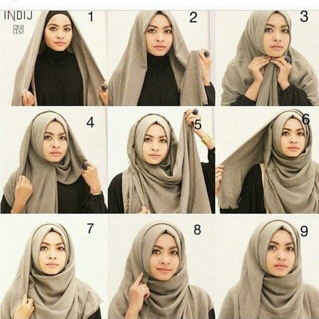 10 Tutorial Hijab Wisuda Terbaru Update Modern Simple Lebih Beragam Model Baju Muslim Gamis Syar I Abaya Terbaru Modelmu