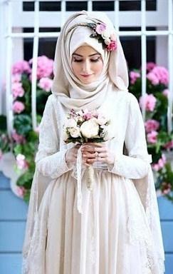 Model Kebaya untuk Pengantin Muslim Paling Elegan